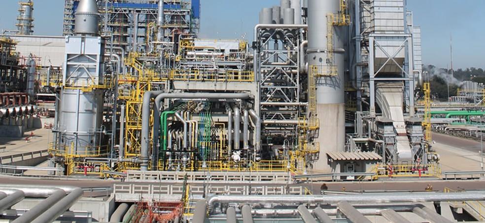 Unidade de Geração de Hidrogênio (U-22311) da Repar, obra executada pelo Consórcio Conpar (Foto: Divulgação/Petrobras)