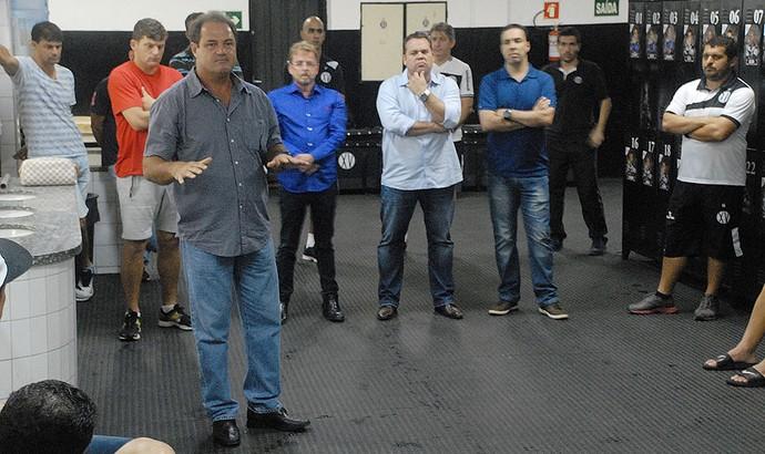 Vica Treinador Técnico XV de Piracicaba Nhô Quim (Foto: Eduardo Castellari / XV de Piracicaba)