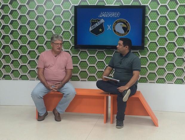 Geninho técnico do ABC Globo Esporte