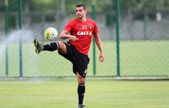 Diego Souza não treina e volta a ser dúvida no Sport; Rodney é vetado