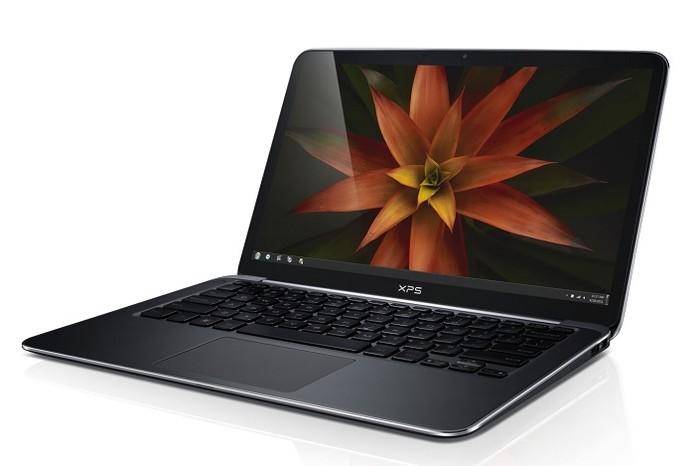Del XPS 13 possui tela QHD (Foto: Divulgação/Dell)