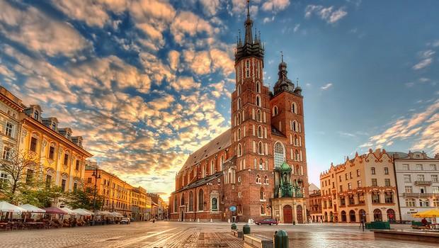 Cracóvia, Polônia (Foto: Flickr @Nico Trinkhaus)
