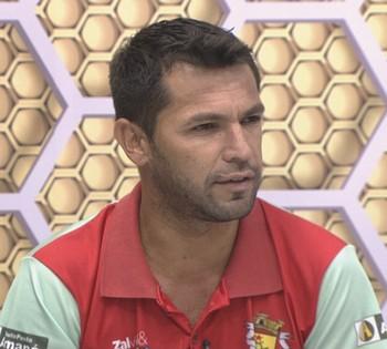 Zé Marco, técnico do Dalvez (Foto: Reprodução/GloboEsporte.com)
