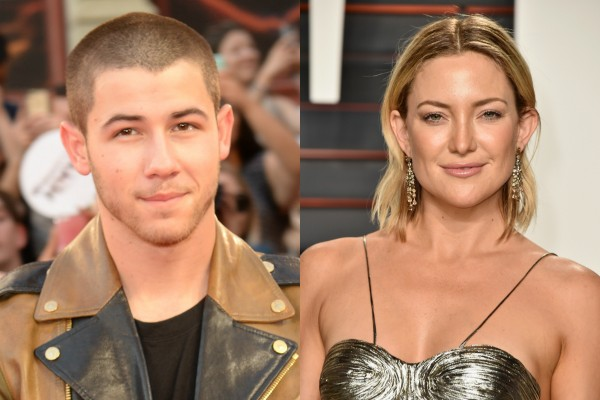 Nick Jonas e Kate Hudson (Foto: Getty Images)