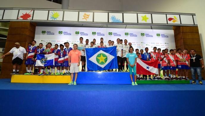 Jogos Escolares, Mato Grosso (Foto: Gaspar Nobrega/COB)