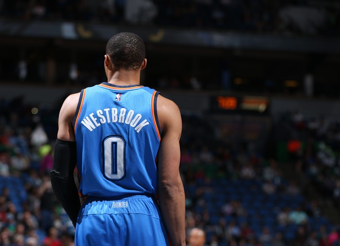 Russell Westbrook Oklahoma City Thunder NBA (Foto: Getty Images)