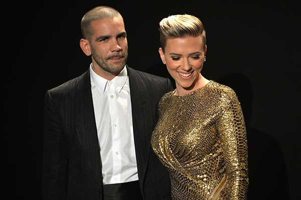 Scarlett Johansson e Romain Dauriac (Foto: Getty Images)