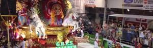 Aliança é sagrada campeã do carnaval de Joaçaba pela 3ª vez (Lucas Neves/RBS TV)
