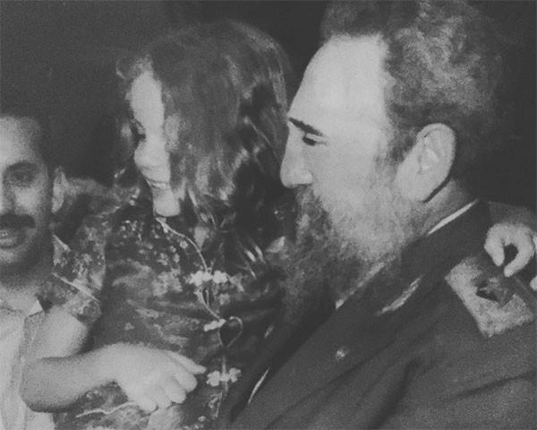 Leandra Leal e Fidel Castro (Foto: Reprodução/Instagram)