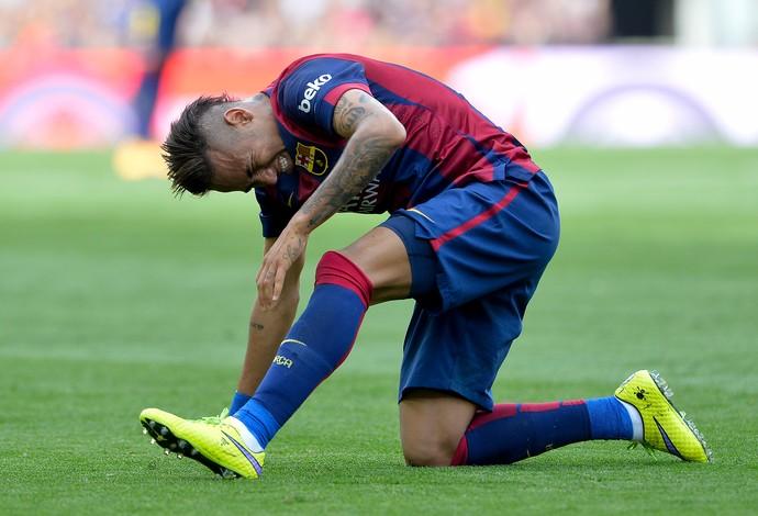 Neymar Barcelona Valencia (Foto: AFP)