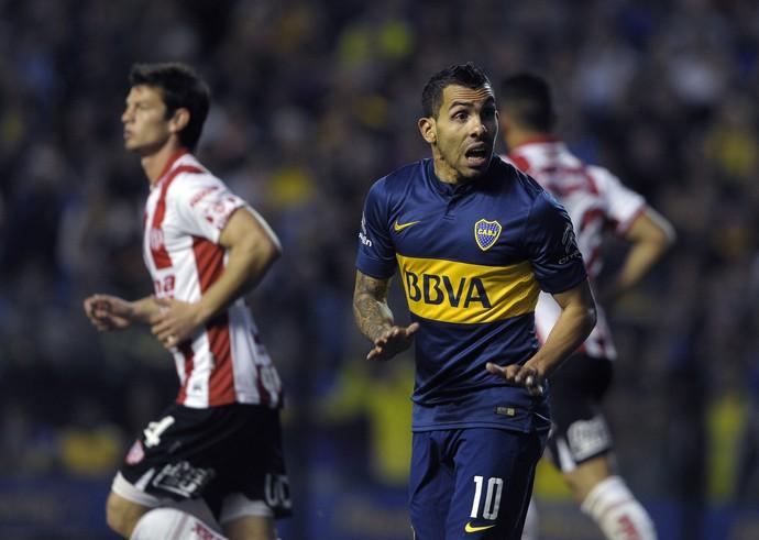 Tevez Boca Juniors x Unión Santa Fe (Foto: ALEJANDRO PAGNI / AFP)