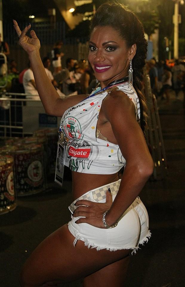 Ana Paula Evangelista (Foto: Sérgio Gallo / Editora Globo)