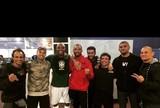 """Tibau exalta treino pré-UFC 184 na academia do Spider: """"Foi agradável"""""""