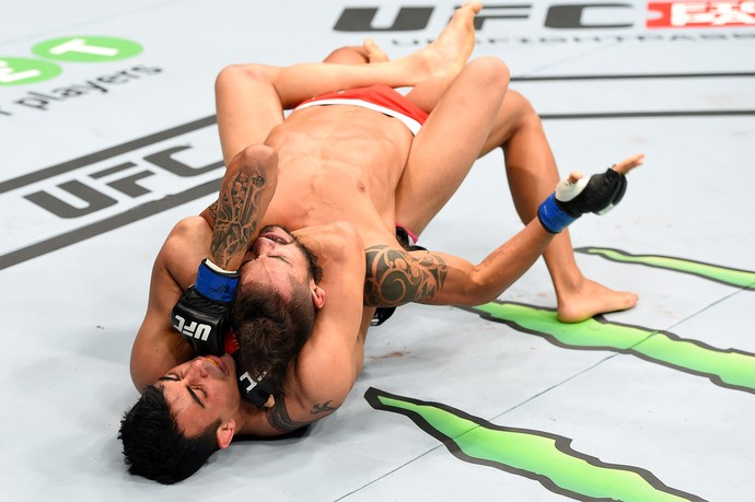 Makwan Amirkhani Masio Fullen UFC Berlim (Foto: Getty Images)