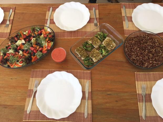 Anamara prepara dieta Low Carb com ajuda de chef: 'Tendência' (Foto: Divulgação / Arquivo pessoal)