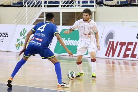 Orlândia x Dracena - quartas de final da Copa Paulista de Futsal (Foto: Luan Amaral / Orlândia, Divulgação)