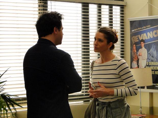 Laura resolve procurar Fabiano e declara todo seu amor para o cineasta (Foto: Malhação / Tv Globo)