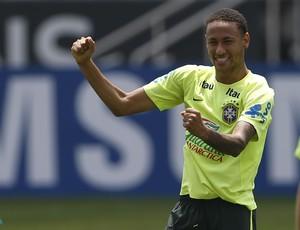 Neymar treino Brasil Arena Corinthians