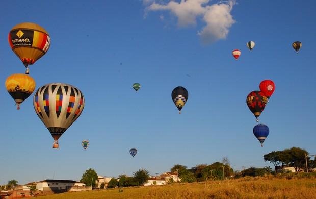 Pré-Mundial de Balonismo acontece em São Carlos (Foto: Divulgação)