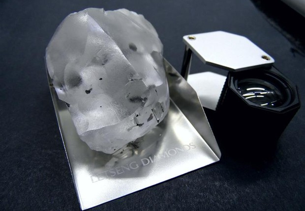 diamante-910quilates-lesoto (Foto: Agência EFE)