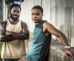 Acerola (Douglas Silva) e Laranjinha (Darlan Cunha) em 'Cidade dos homens' | João Cotta/TV Globo
