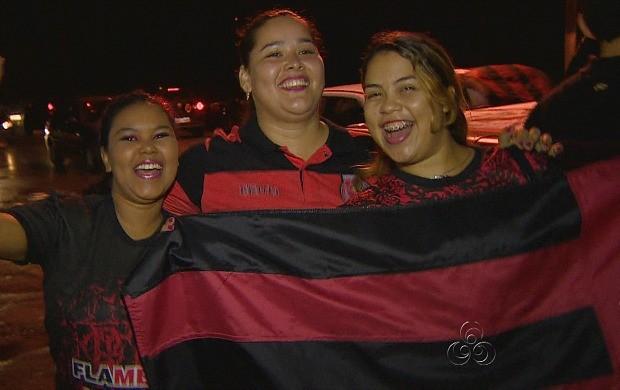 Segundo o estudo, 48% das pessoas que acompanham futebol em Manaus são torcedoras do Flamengo (Foto: Bom Dia Amazônia)