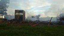 Incêndio no Horto Florestal destrói 30 anos de pesquisa (Divulgação/ Sidney Fernandes )