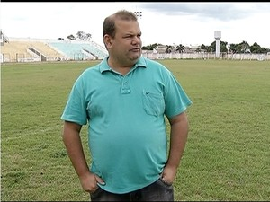 presidente do gurupi  (Foto: Reprodução/TV Anhanguera)