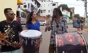 Maria Menezes descobre o que há de pitoresco no bairro do Candeal (TV Bahia)