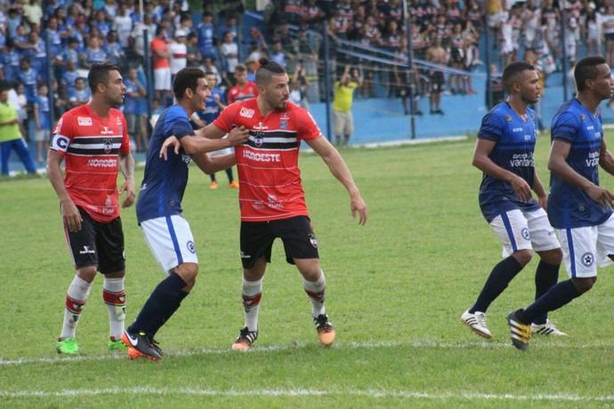 Parnahyba x River-PI, Campeonato Piauiense  (Foto: Victor Costa/RiverAC)