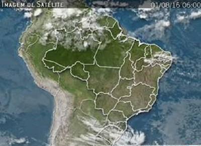 mapa-imagem-satelite-clima (Foto: Marco Antônio dos Santos)