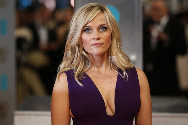Reese Witherspoon no BAFTA (Foto: AFP)