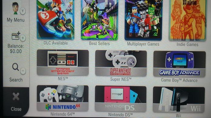Clique no ícone do Wii dentro da eShop do Wii U (Foto: Reprodução/Thomas Schulze)