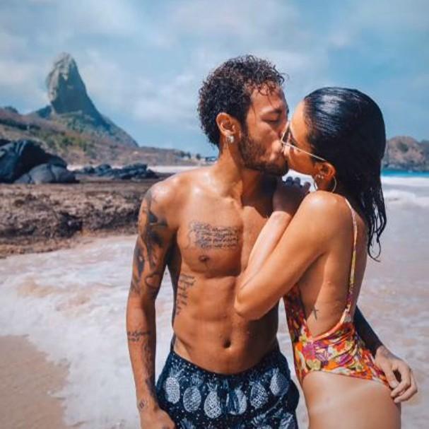Neymar e Bruna Marquezine (Foto: Reprodução Instagram @raul - Raul Aragão)