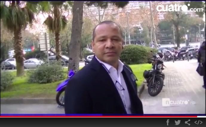 Neymar pai entrevista Cuatro (Foto: Reprodução / Site Oficial)