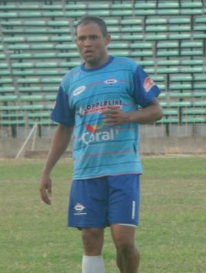 Zé Rodrigues, atacante piauiense (Foto: Flávio Meireles)