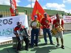 Petroleiros aderem à paralisação nacional e fazem ato público em SE