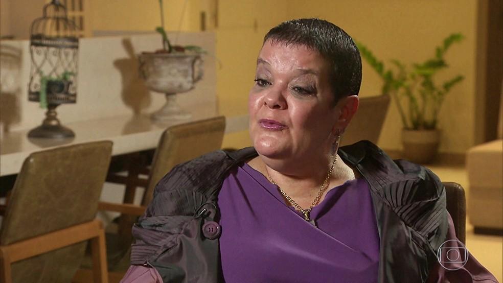 Virgínia e outras sete pessoas foram inocentadas na Justiça criminal pelos supostos homicídios (Foto: Reprodução/TV Globo)