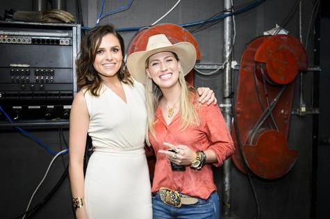 Monica Iozzi e Bruna Viola (Foto: Ramon Vasconcelos/TV Globo)
