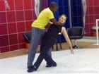 'Quero ele em um potinho', diz Bia Seidl sobre seu professor no 'Dança'