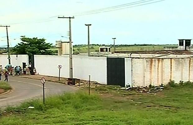 Presído de Catalão, em Goiás (Foto: Reprodução/TV Anhanguera)