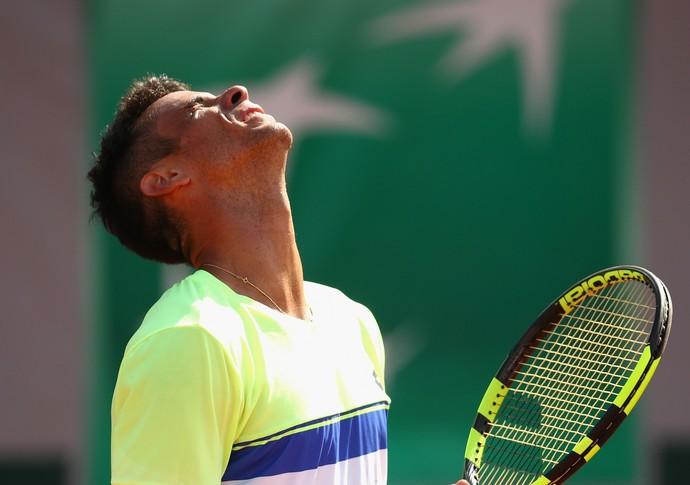 Rogerinho lamenta derrota na segunda rodada de Roland Garros (Foto: Getty Images)