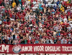 Torcida do Guaratinguetá no Dario Rodrigues Leite (Foto: Comunicação Guaratinguetá Futebol/ Divulgação)