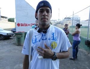 Weltinho, atacante do GEL (Foto: Richard Pinheiro)