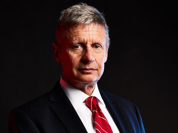 Gary Johnson, candidato do Partido Libertário à presidência dos EUA (Foto: Divulgação)