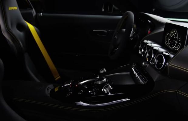 Teaser do Mercedes-AMG GT R (Foto: Reprodução/Youtube)