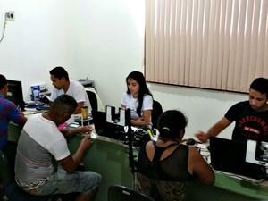 TRE-AC atinge 70% dos eleitores em recadastramento biométrico em Xapuri e Porto Acre (Foto: Divulgação/Ascom TRE-AC)