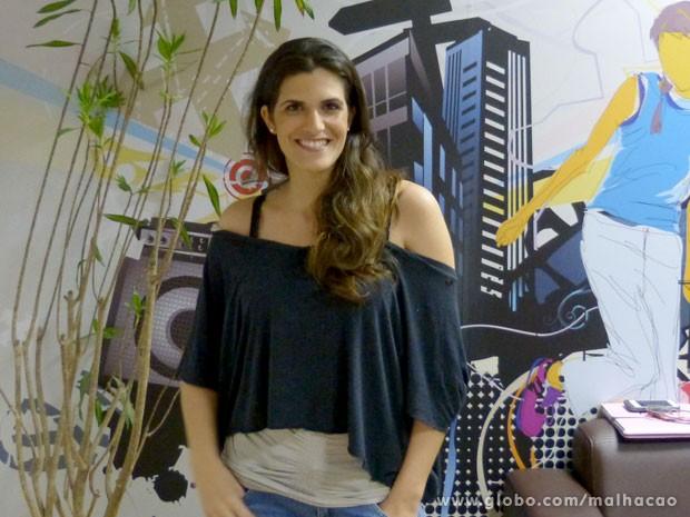 A coach Maria Roberta Perez gostou das cenas de Sal e Luana (Foto: Malhação/ TV Globo)
