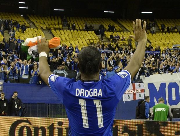 Didier Drogba se despede Montreal Impact