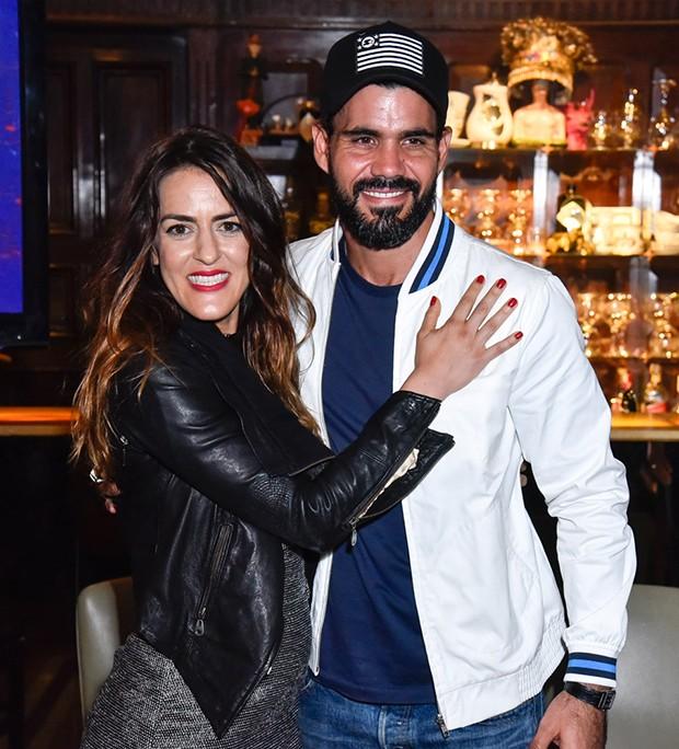 Luciana Paes e Juliano Cazarré (Foto: Caio Duran/Brazil News )